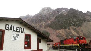 Tren Lima a Huancayo: estación Galera
