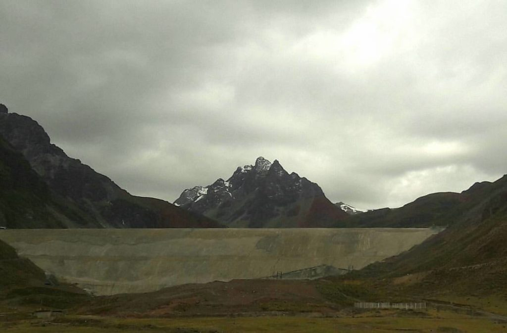 Montaña llegando al punto más alto