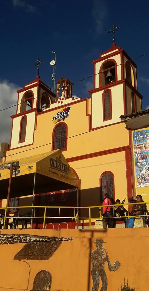 Llegada a San Pedro de Saño