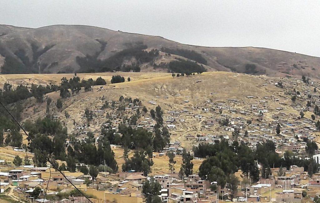 Vista desde el cerro la Libertad al campo