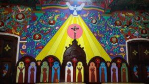 Qué hacer en Huancayo en 2 días: Sala con la obra de los franciscanos