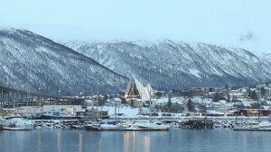 Vista de la Catedral del ártico