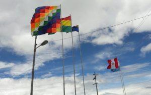 Banderas en la frontera