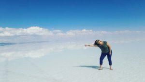 El salar de Uyuni y su mágico efecto espejo