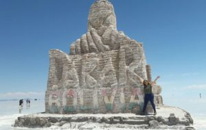 Monumento de sal del Dakar