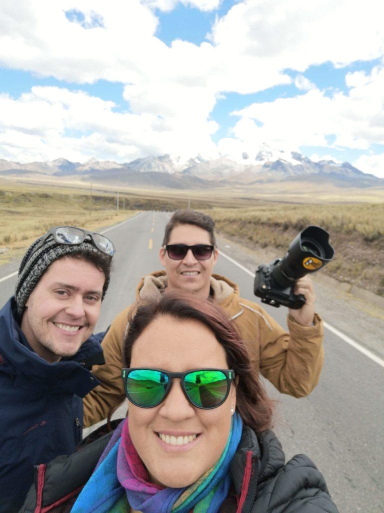 Viajeros tumbo a Huaraz