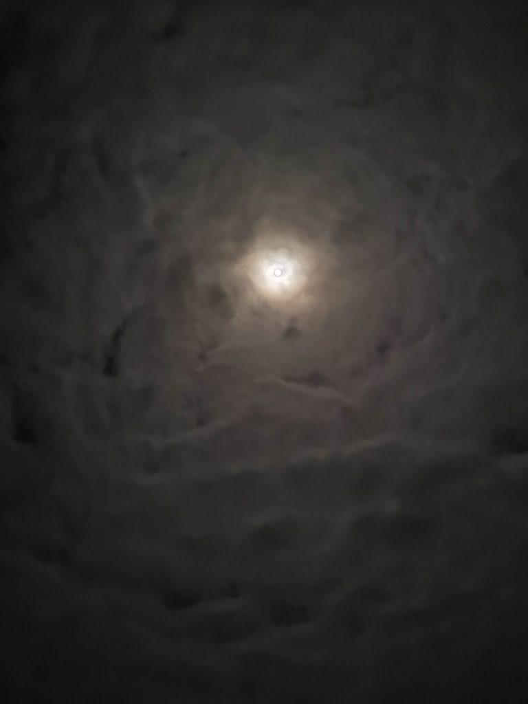 Luna llena sobre Zorritos