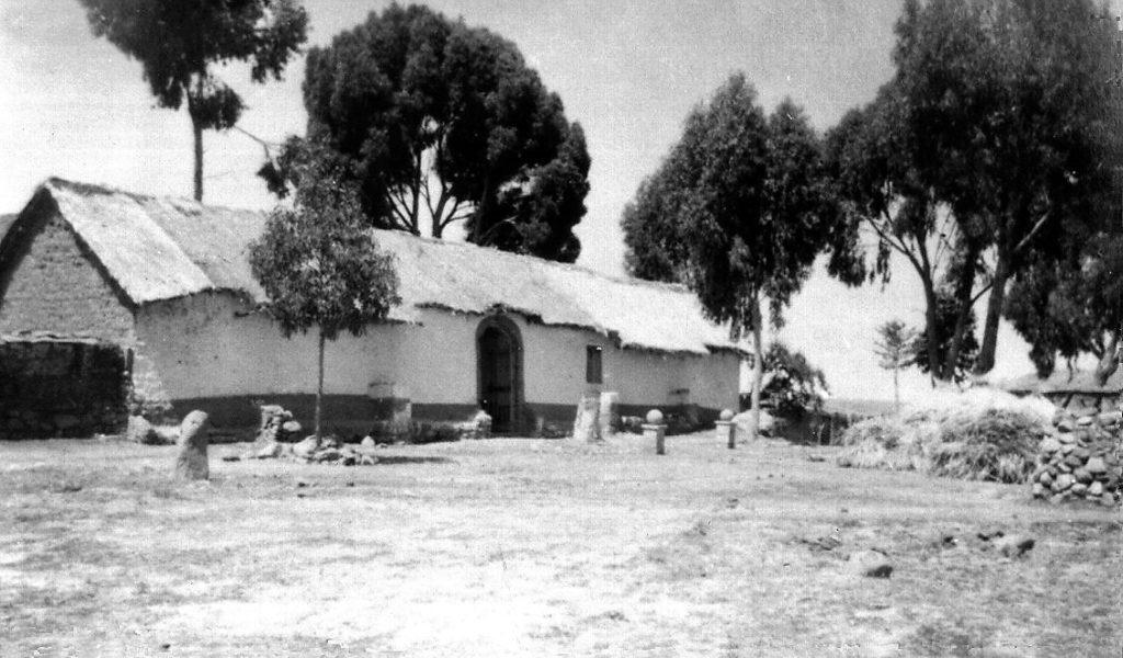 Hacienda Camjata usada como base para la expedición al lago Titicaca