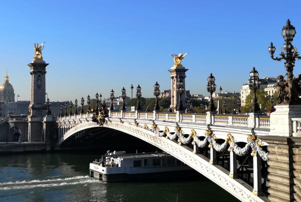 Qué hacer en París día 1: Puente Alejandro III