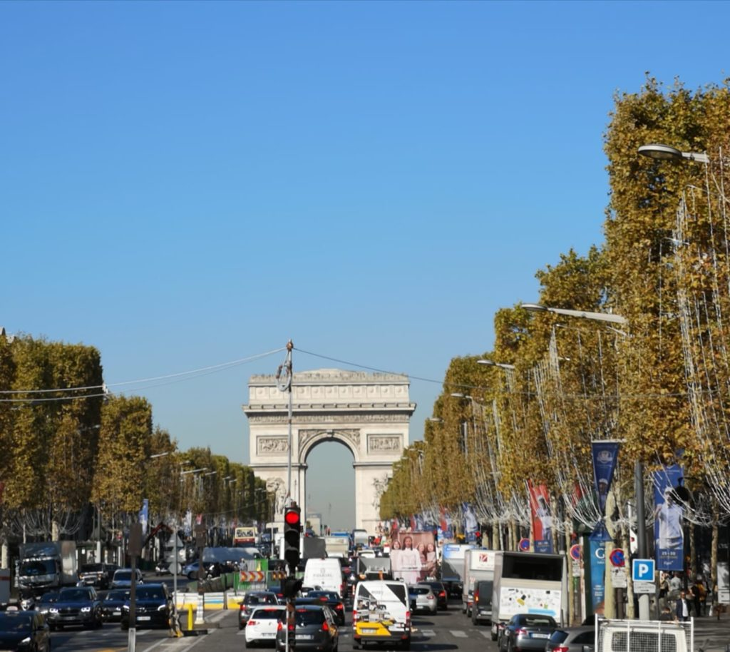 Qué hacer en París día 1: Campos Eliseos