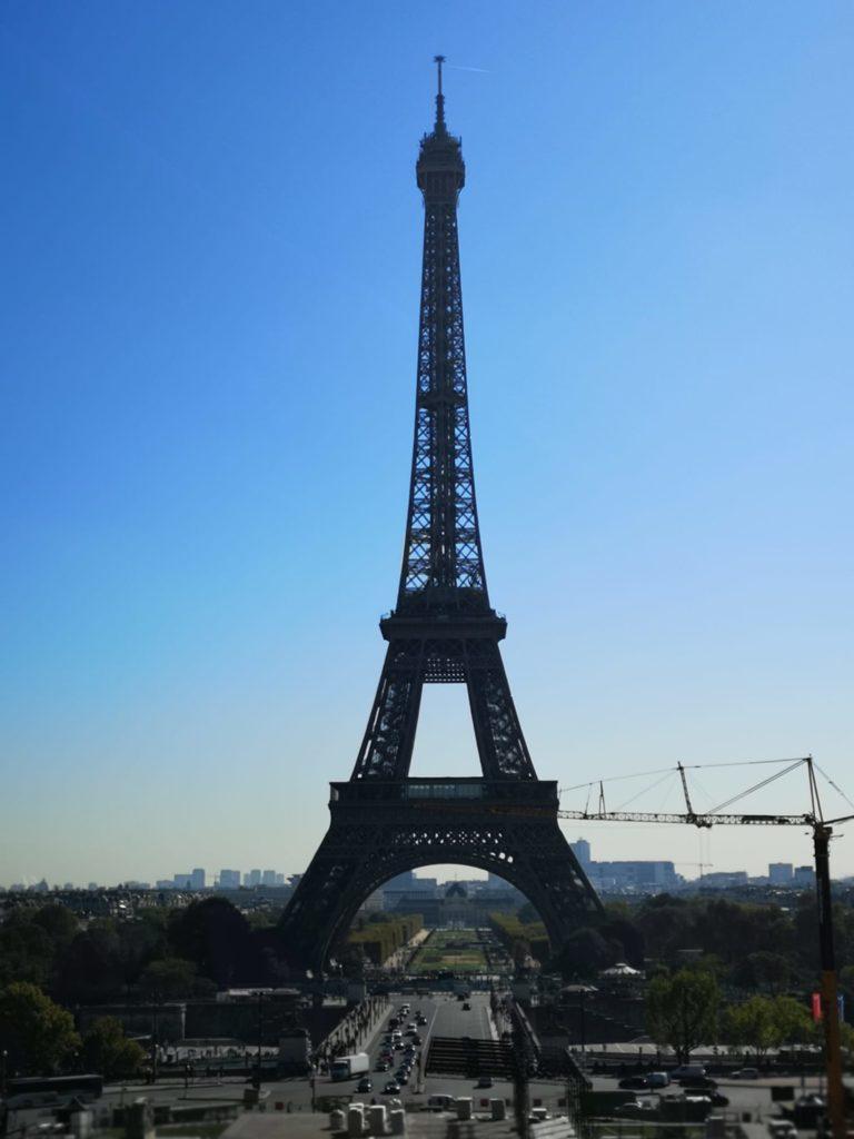 Qué hacer en París día 1: Torre Eiffel desde Trocadero