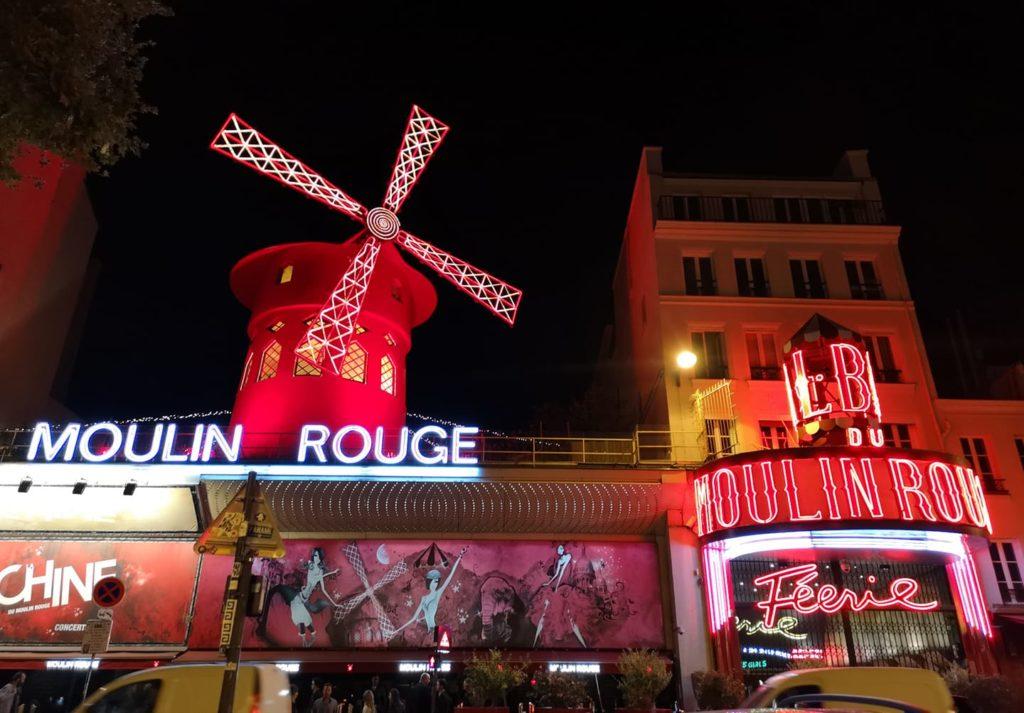 Qué hacer en París día 1: Moulin rouge