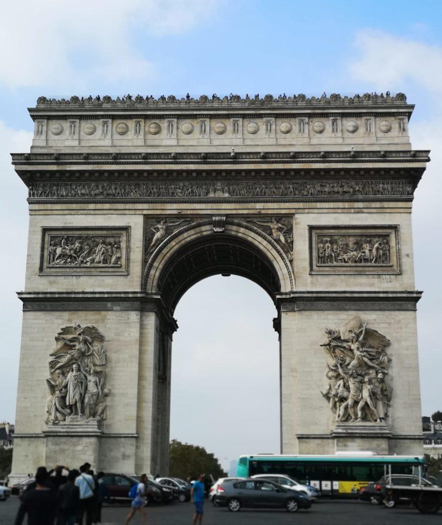 Qué hacer en París día 2: Arco del Triunfo