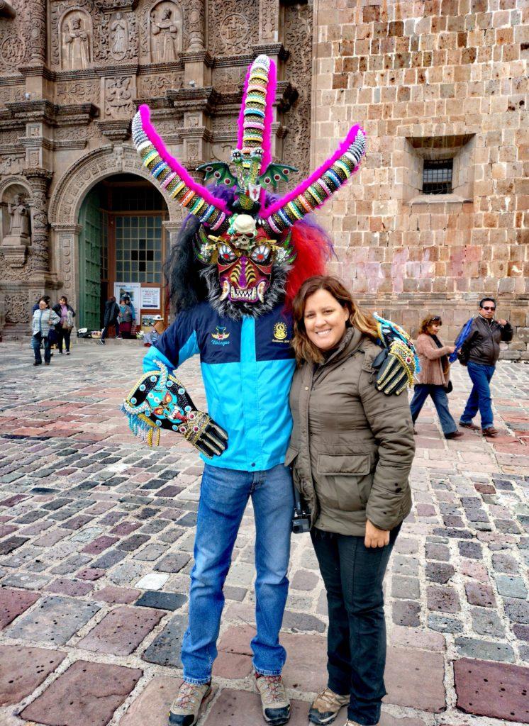 Fiesta de la Candelaria: foto con Carlos Yeraldo