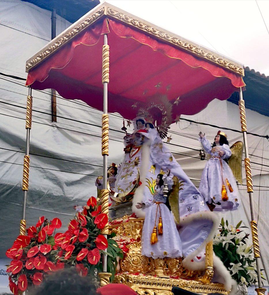 Fiesta de la Candelaria: procesión