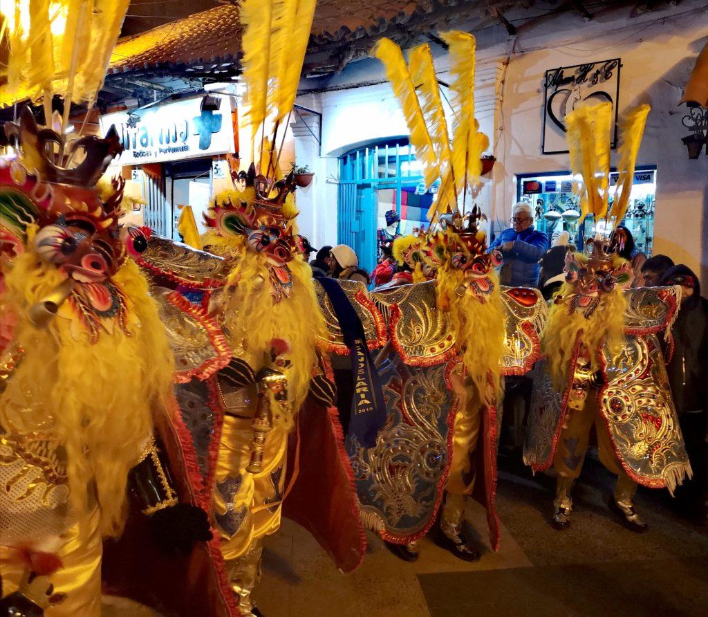 Fiesta de la Candelaria: morenada