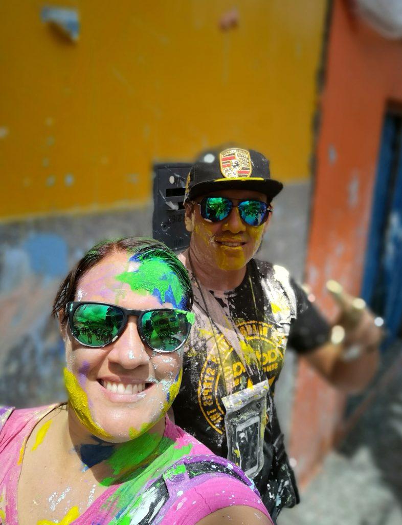 Primer día del carnaval de Cajamarca: ingreso del ño carnavalon