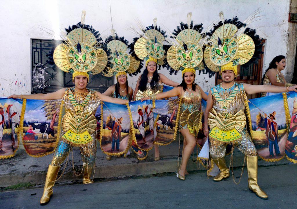 Sangre real en el carnaval de Cajamarca