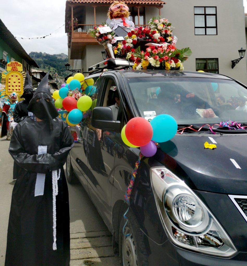 Rumbo al entierro del ño carnavalon: fin del carnaval de Cajamarca