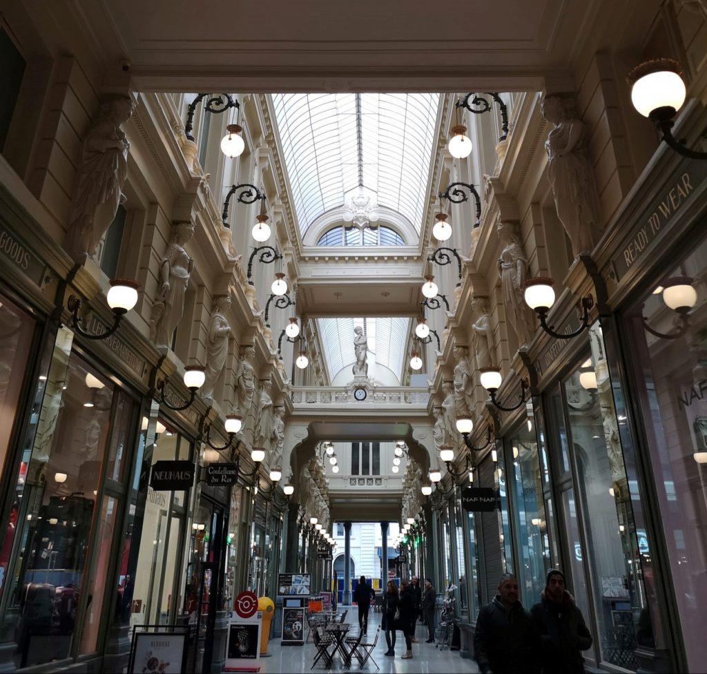 Qué hacer y ver en Bruselas: Galería en el centro de Bruselas