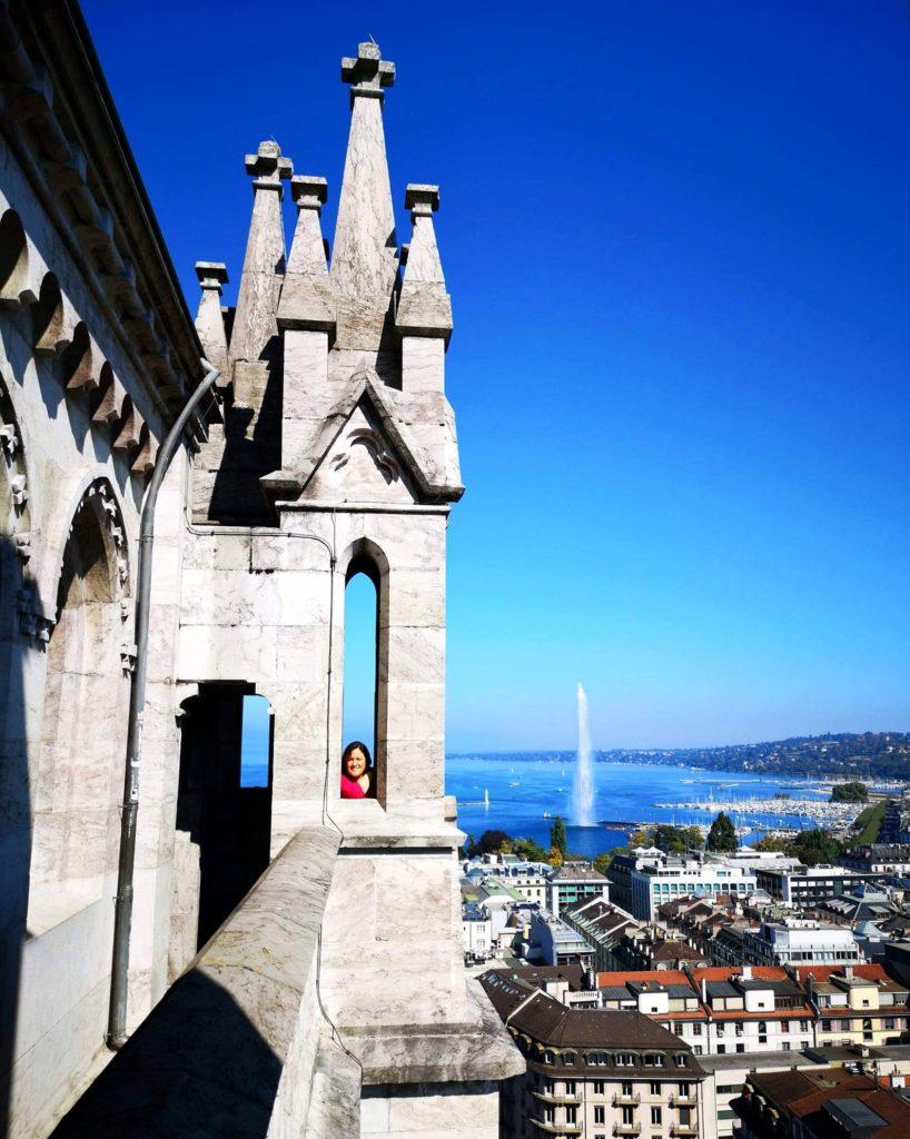 Vista desde la Catedral de Saint Pierre