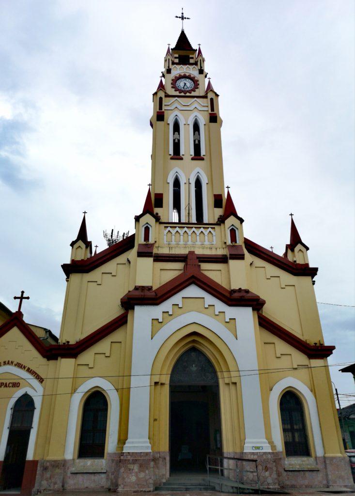 Conoce los lugares turísticos de Iquitos: iglesia matriz