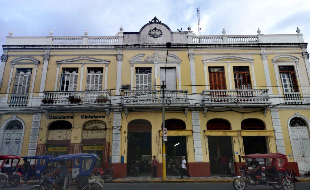 Conoce los lugares turísticos de Iquitos: casa Pinasco
