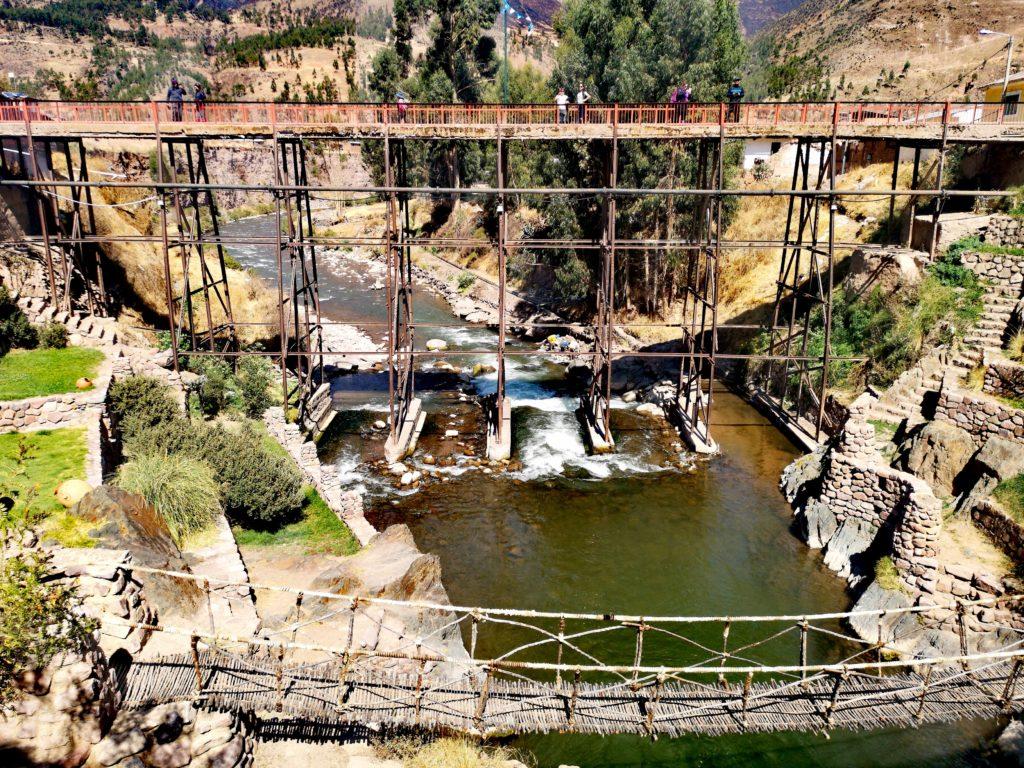Puentes en Combapata